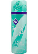 Id Juicy Lube Water Based Flavored Lubricant Cool Mint 3.5oz